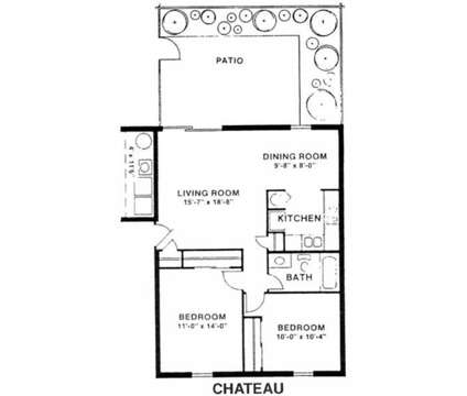2 Beds - Carlton Apartments at 2629 Plaza Drive in Indianapolis IN is a Apartment