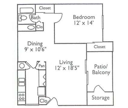 1 Bed - Legacy of Dalton at 2111 Club Drive in Dalton GA is a Apartment