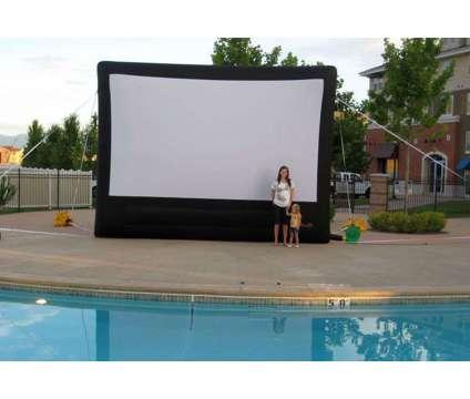 Outdoor Cinema Rental in Utah, Inflatable Movie Screen Rental in Utah is a Party Rentals service in Lehi UT