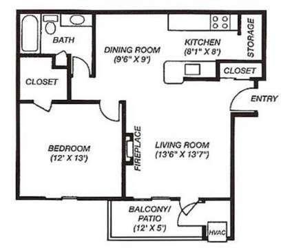 1 Bed - Hidden Lakes Apartments at 4260 Hidden Lakes Dr in Kentwood MI is a Apartment