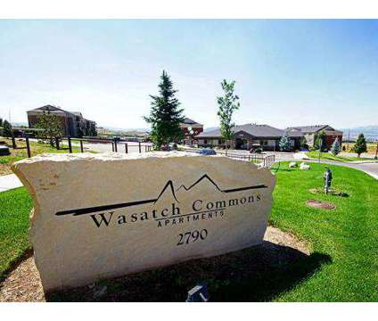 1 Bed - Wasatch Commons (Brand New with Month and a Half FREE RENT) at 2790 North Commons Blvd in Heber City UT is a Apartment