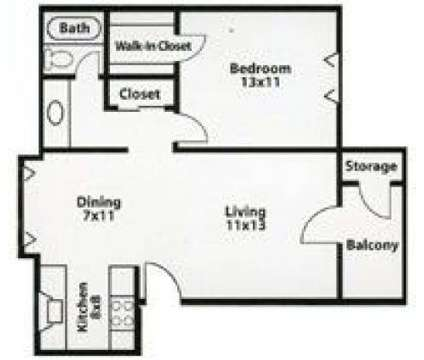 1 Bed - Wasatch Club at 6960 State St in Midvale UT is a Apartment