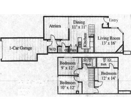3 Beds - Hunters Woods at 4924 Murray Boulevard (500 W. in Salt Lake City UT is a Apartment