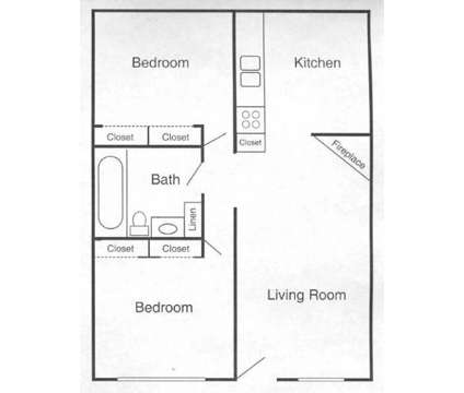 2 Beds - Lakeview Apartments at 8562 Orchard Avenue in Omaha NE is a Apartment