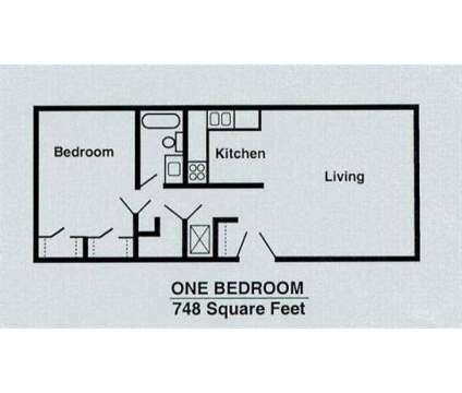 1 Bed - Windsor Woods at 2502-2526 S 114th St in Omaha NE is a Apartment