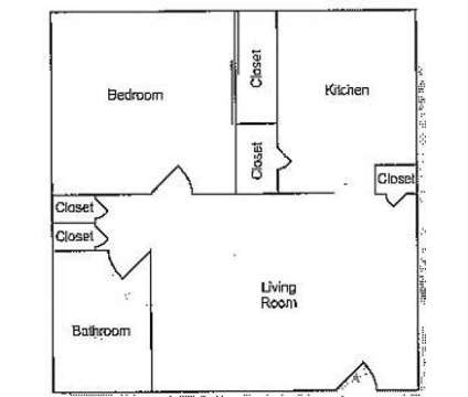 1 Bed - Courtyard 72 at 1607 N 73rd #23 in Omaha NE is a Apartment