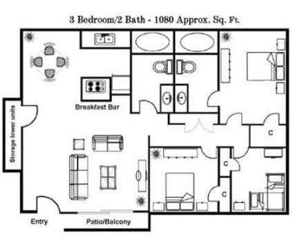 3 Beds - Carroll Apartments at 9494 Carroll Canyon Road in San Diego CA is a Apartment