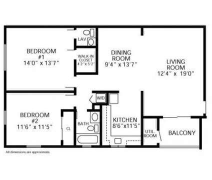 2 Beds - Hillside Gardens at 1200 Sunnyview Oval in Woodbridge NJ is a Apartment
