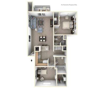 2 Beds - The Crossings Apartments at 1414 Eastport Dr Se in Grand Rapids MI is a Apartment