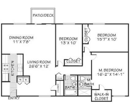 3 Beds - Hillcroft at Danbury at 10 Clapboard Ridge Rd in Danbury CT is a Apartment