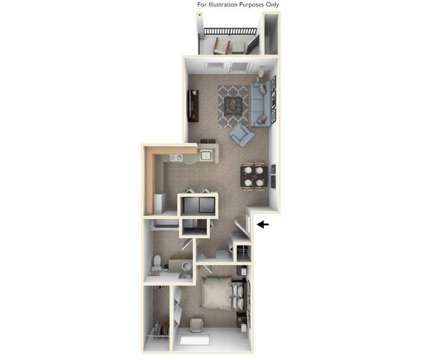 1 Bed - Trillium Pointe Apartment Homes at 3502 Bluebell Ln in Jackson MI is a Apartment