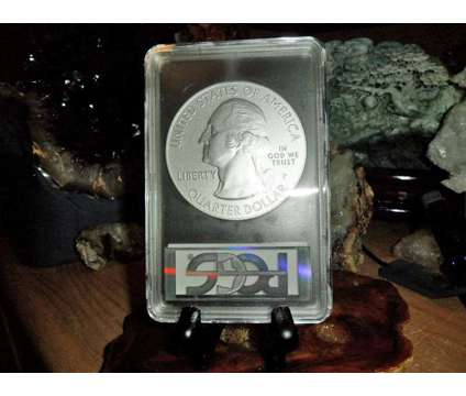 2015-P F/S PCGS SP 70 KISATCHIE NATIONAL PARK 5 oz. SILVER QUARTER with JOHN M is a Collectibles for Sale in New York NY