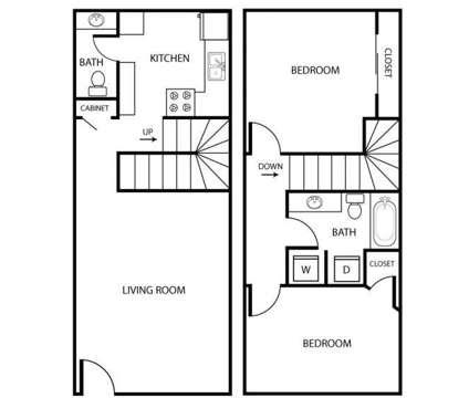 2 Beds - Ridgewood Court Townhomes at 215 Lincoln Ave in El Cajon CA is a Apartment