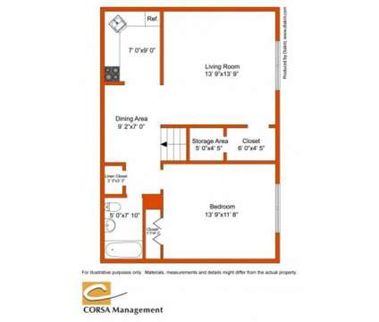 1 Bed - Cramer Hill Apartments & Townhomes at 3408 River Rd in Camden NJ is a Apartment