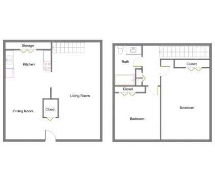 2 Beds - Grosvenor North Townhomes at 94 Stegman Ln in Pontiac MI is a Apartment