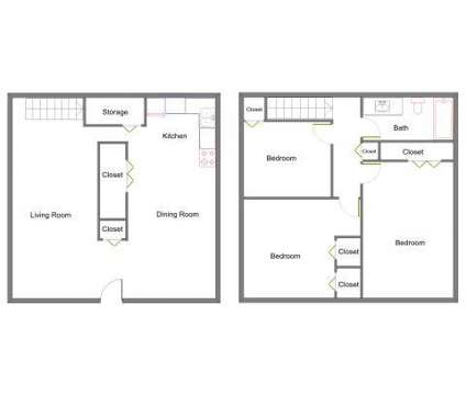3 Beds - Grosvenor North Townhomes at 94 Stegman Ln in Pontiac MI is a Apartment
