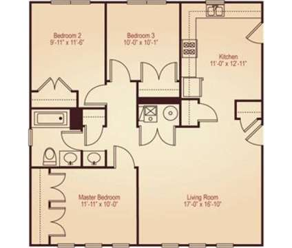 3 Beds - Humboldt Ridge at 1816 N St Louis in Chicago IL is a Apartment