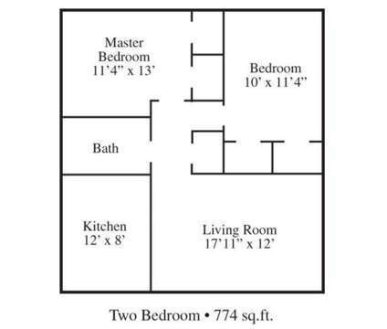 2 Beds - University Gardens Manor at 2059 Cabana Circle N in Memphis TN is a Apartment