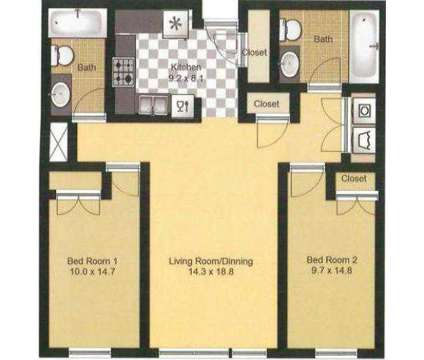 2 Beds - East Village Apartments & Townhomes at 1423 11th Avenue S in Minneapolis MN is a Apartment