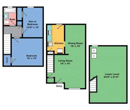 2 Beds - Central Park Apartments (A Rental Housing Community) at 11 Fir St in Park Forest IL is a Apartment