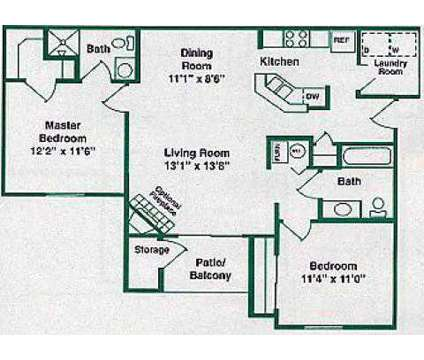 2 Beds - Greenfield Crossing at 2011 North East Bay Dr in Greenfield IN is a Apartment