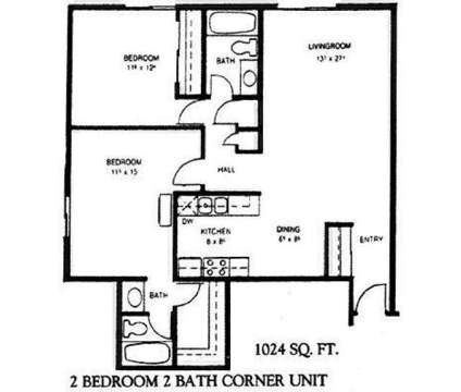 2 Beds - Meadow Wood at 4420 N 7th St in Lincoln NE is a Apartment