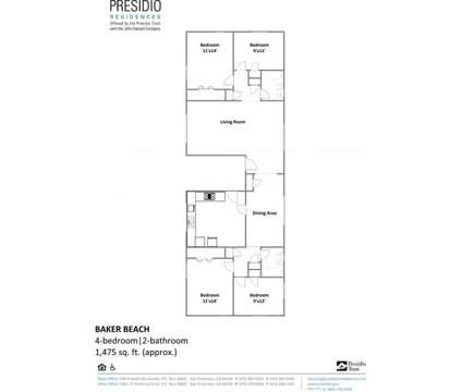4 Beds - The Presidio Residences at 558 Presidio Boulevard in San Francisco CA is a Apartment