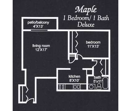 1 Bed - Harvest Grove & Harvest Ridge at 8162 Westwood Ct in Crown Point IN is a Apartment