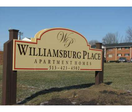 1 Bed - Williamsburg Place at 1221 Jackson Lane in Middletown OH is a Apartment