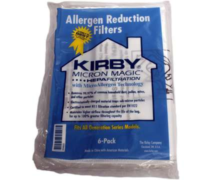 Kirby vacuum bags Generation bags HEPA Rohnert Park Ukiah Santa Rosa is a Appliances for Sale in Rohnert Park CA