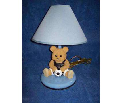 Soccer Teddy Bedroom Light is a Baby & Kid Stuff for Sale in Allentown PA