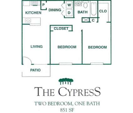 2 Beds - Arbors at Town Square at 1000 E Curtis in Pasadena TX is a Apartment