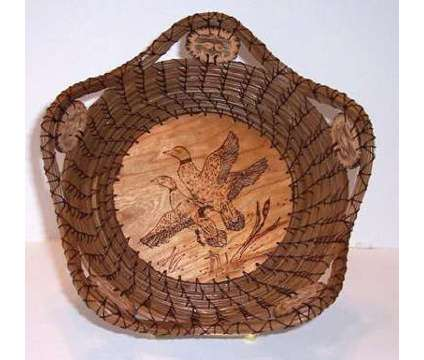 Wood Burnt Baskets is a Toys for Sale in Marion IL