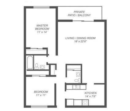2 Beds - Glen Ellyn Apartment Homes at 1250 Old Bond Ct in Glen Ellyn IL is a Apartment