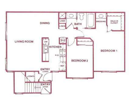 2 Beds - Del Pine Terrace at 4301 Belle Terrace in Bakersfield CA is a Apartment