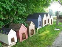 DOG HOUSE s - All different colors & sizes