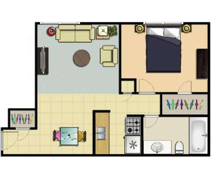 1 Bed - Rockport Apartments at 14710 Puritas Ave in Cleveland OH is a Apartment