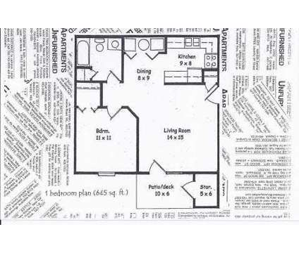 1 Bed - Winfield Farms Apartments & Townhomes at 402 Brunswick Dr in Lafayette IN is a Apartment