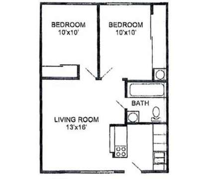 2 Beds - Eagle Ridge Apartments at 530 S Eldridge St in Lawrence KS is a Apartment