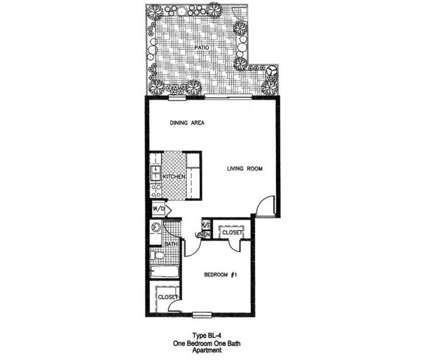 1 Bed - Carlton Arms of Ocala at 5001 Sw 20th St. Suite 100 in Ocala FL is a Apartment