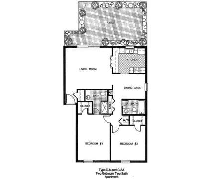 2 Beds - Carlton Arms of Ocala at 5001 Sw 20th St. Suite 100 in Ocala FL is a Apartment