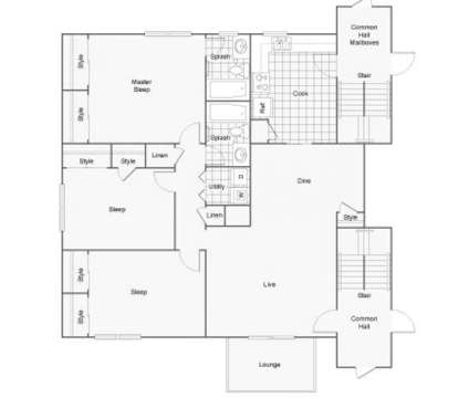 3 Beds - The Estuary at 3450 Evans Rd in Atlanta GA is a Apartment