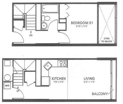 1 Bed - City Living at The Piazza at 1001 N 2nd St Suite 21 in Philadelphia PA is a Apartment