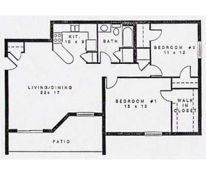 2 Beds - Colonial Village at 715-b Meadow Wood Dr in Crescent Springs KY is a Apartment