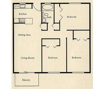 3 Beds - Thamesview Apartments at 495 Laurel Hill Rd in Norwich CT is a Apartment