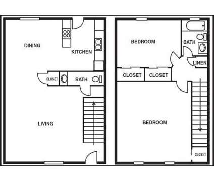 2 Beds - Olde Towne Apartments at 384 Towne Ct East in Gahanna OH is a Apartment