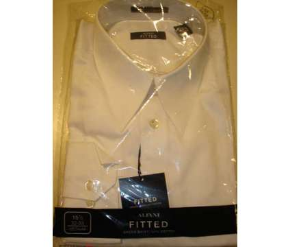***MEN'S DRESS SHIRTS NWT--FITTED SZ 15 1/2 32x33--HALF PRICE*** is a Black, Blue, White Shirts & Tops for Sale in Huntington Station NY