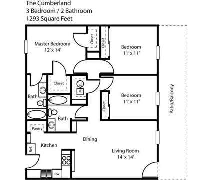 3 Beds - Laurel Lake Apartments of Indianapolis at 2220 E Stop 13 Rd in Indianapolis IN is a Apartment
