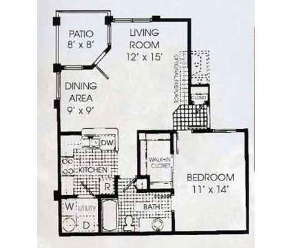 1 Bed - Gloria Park Villas at 3625 S Decatur Blvd in Las Vegas NV is a Apartment