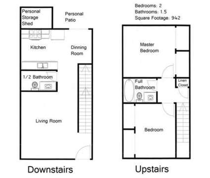 2 Beds - Amberbrook Townhomes at 4321 W Hood Avenue #a-12 in Kennewick WA is a Apartment